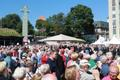Queen Margrethe II of Denmark visited Tallinn's Freedom Square together with President Kersti Kaljulaid on Saturday. June 15, 2019.