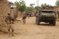 Eesti jalaväerühm iganädalasel patrullil Malis.