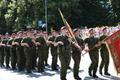 Victory Day parade in Tartu.