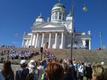 ESTO 2019 esimese päeva eestilaste laulud Helsingi Senatiplatsil töid kuulaiaile pisara silmi nagu ikka...