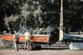 Рыболовная ярмарка на Певческом поле в Таллинне.