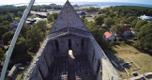 Droonifotod katuse paigaldamisest
