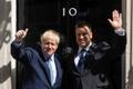 Jüri Ratas was the first foreign leader to visit Boris Johnson at Number 10, after the latter became prime minister last August. Photo taken on 6 August 2019.