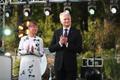 President's reception at the Kadriorg Palace Rose Garden on Aug. 20.