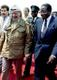 Robert Mugabe ja tema vana sõber Yasser Arafat 1996.