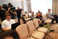Gheorghe Cretu teatas pressikonverentsil ametist lahkumisest.