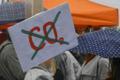 Климатическая забастовка на Кулгу в Нарве.
