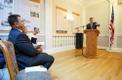 Jüri Ratas ja Urmas Reinsalu New Yorgis Eesti Majas