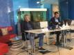 Pressikonverents M.V. Wooli kalatehases.