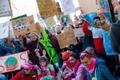 Kliimastreik Tallinnas Toompeal