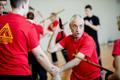 BIFF escrima peainstruktor Jay Dobrin Tallinnas seminari andmas