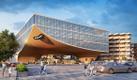 Проект Центрального рынка, победивший в архитектурном конкурсе.