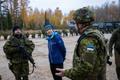 President Kersti Kaljulaid lisaõppekogunemisel Okas