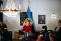 President Kersti Kaljulaid signs Mart Järvik resignation.