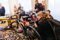 Ukraina president Volodõmõr Zelenski Eestis President Kersti Kaljulaid met Ukrainian President Volodymyr Zelensky at Kadriorg. Президент Украины Владимир Зеленский прибыл в Эстонию.
