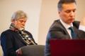 M.V.Wool CEO Mati Vetevool (left) at the Tallinn Circuit Court hearing.