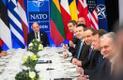Jüri Ratas osales NATO kohtumise järel Donald Trumpi korraldatud õhtusöögil.
