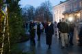 This year's Christmas forest in front of Kadriorg Palace.