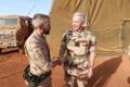Prantsuse kaitseväe juhataja kohtus Eesti operatsiooniüksusega Malis