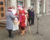 Церемония провозглашения рождественского мира в Йыхви.