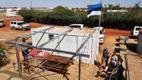 Estonian sauna at the UN's Timbuktu base in Mali.