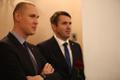 Tallinna sotsiaaldemokraatide üldkoosolek:Raimond Kaljulaid ja Rainer Vakra