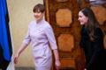 Soome peaminister Sanna Marin kohtus president Kersti Kaljulaidiga.