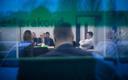 Keskerakonna juhatuse koosolek: paremal Jüri Ratas