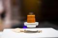 Vesuuvilt toodud liivatera, millest füüsik Siim Piiker tegi skanneeriva elektronmikroskoobiga ülesvõtted ja 3D-mudeli.