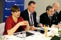 President Kersti Kaljulaid Münchenis Kolme mere algatuse ümarlaual.