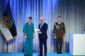 President Kersti Kaljulaid andis üle riiklikud teenetemärgid. Normunds Mežviets – Eesti-Läti julgeolekualase koostöö edendaja.