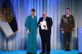 President Kersti Kaljulaid andis üle riiklikud teenetemärgid. Argo Ideon – nõtke sulega ajakirjanik.