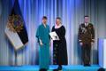 President Kersti Kaljulaid andis üle riiklikud teenetemärgid. Piret Aus – erivajadustega inimeste abistaja, kes tegi laulu- ja tantsupeo kättesaadavaks erivajadustega inimestele.