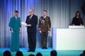 President Kersti Kaljulaid andis üle riiklikud teenetemärgid. Juhan Anupõld – noortespordi edendaja.
