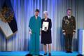 President Kersti Kaljulaid andis üle teenetemärgid .Asta-Virve Libek – sordiaretaja, kes on marjakultuuridega tegelenud üle poole sajandi.