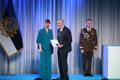 President Kersti Kaljulaid andis üle teenetemärgid. Rein Luning – eestluse hoidja Ameerika Ühendriikides.