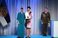 President Kersti Kaljulaid andis üle riiklikud teenetemärgid. Marget Pähkel – finantsist, kes on andnud olulise panuse Kaitseväe finantsvaldkonna arengusse.