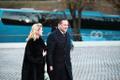 Presidendi vastuvõtule saabujad Viljandis
