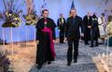 Rooma-Katoliku Kiriku apostellik administraator Eestis piiskop Philippe Jourdan ja isa Igor Gavrilchik