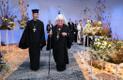 Eesti Apostliku Õigeusu kiriku pea metropoliit Stefanus ja munkpreester Justinus
