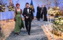 Riikliku haridustöötaja elutööpreemia laureaat Lauri Leesi ja Anne Küüsmaa