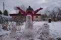 Lumine veebruari lõpp Tammiste külas Tori vallas