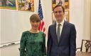 President Kersti Kaljulaid kohtus Valge Maja läänetiivas president Trumpi vanemnõuniku Jared Kushneriga.