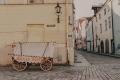 Опустевшие улицы Старого Таллинна.