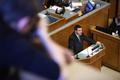 The extraordinary Riigikogu session on April 2 discussed the supplementary budget.