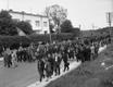 Kolonn liigub Kadrioru poolt presidendilossi juurest Keskvangla suunas nn poliitvange vabastama.
