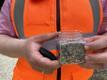 В Саргвере положили асфальт, содержащий пластиковые отходы.