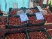 Maasikamüük Tallinna Keskturul.