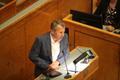 Jürgen Ligi riigikogu kõnepuldis