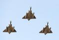 Prantsuse hävitajad Mirage 2000-5 ülelennul Tallinnast